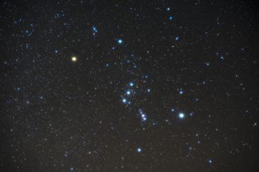 オリオン座流星群2020年見頃のピーク時間帯や方角は?福岡で見える場所はどこ?